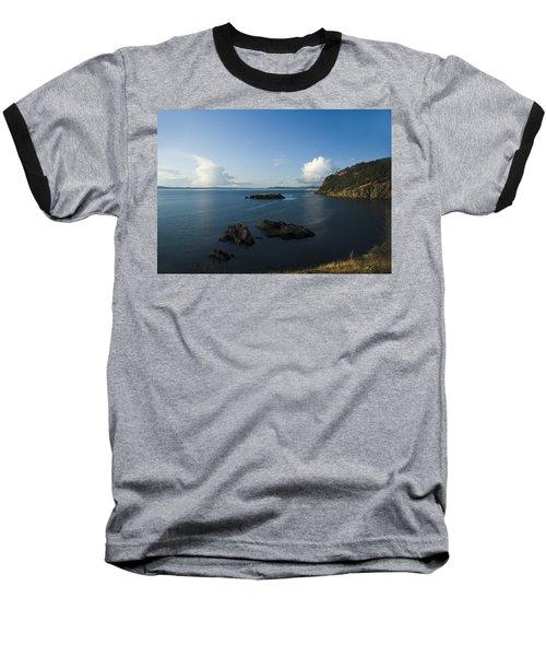 Rosario Strait Near Anacortes Baseball T-Shirt