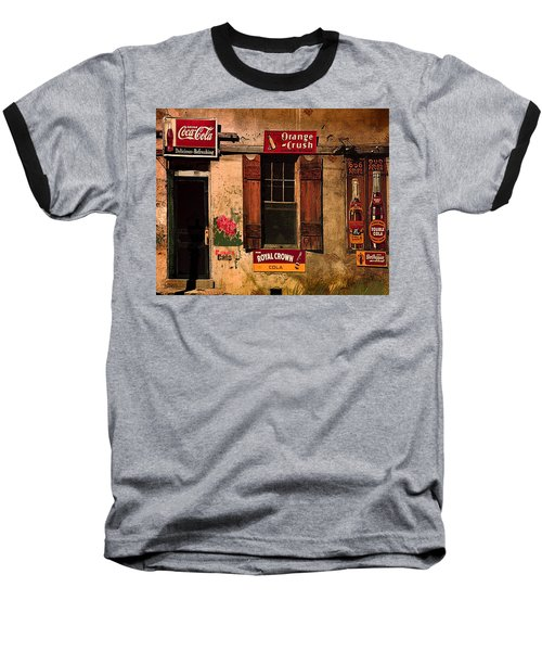 Rosas Cafe Baseball T-Shirt by J Griff Griffin