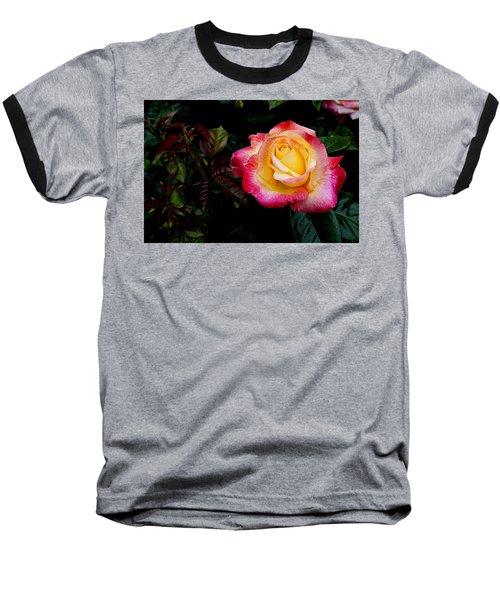 Rose 1 Baseball T-Shirt