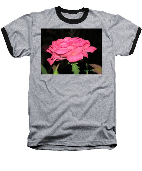 Baseball T-Shirt featuring the photograph Rose 1 by Phyllis Beiser