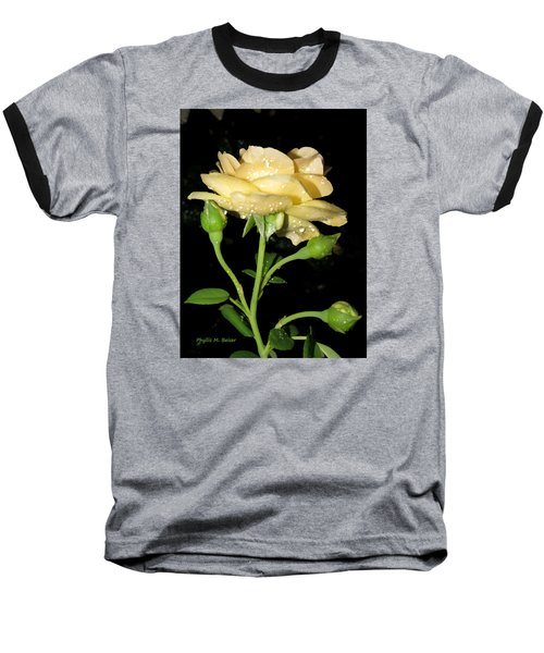 Baseball T-Shirt featuring the photograph Rose 2 by Phyllis Beiser
