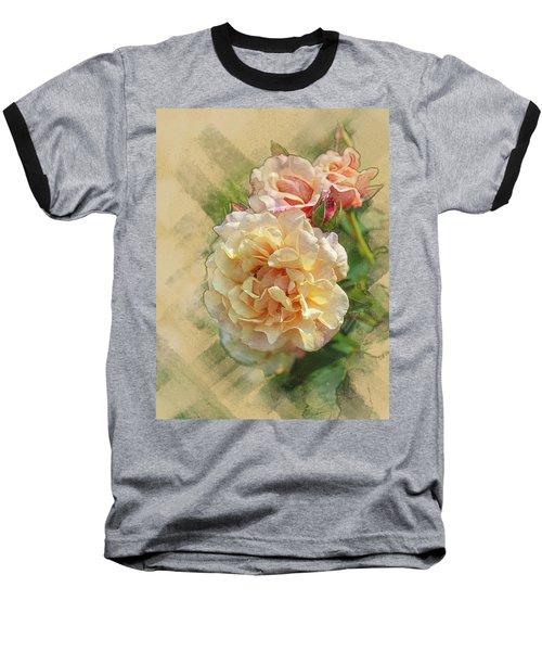 Rose 3 Baseball T-Shirt