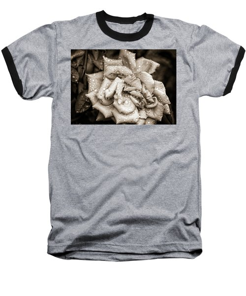 Rose After The Rain Baseball T-Shirt