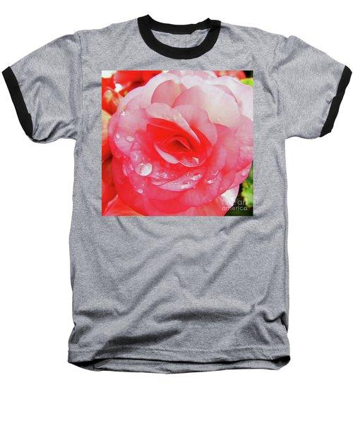 Rose After The Rain Baseball T-Shirt