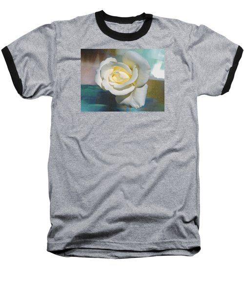 Baseball T-Shirt featuring the photograph Rose And Lights by Helen Haw