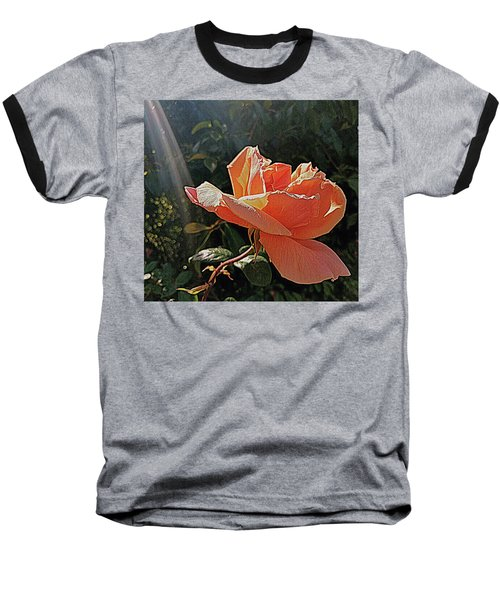 Rose And Rays Baseball T-Shirt