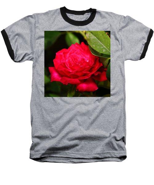 Rose Baseball T-Shirt by Anthony Jones