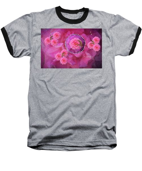 Rose Art A Rose Is Given With Love Baseball T-Shirt