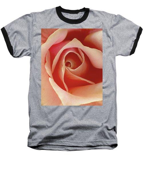 Rose Baseball T-Shirt by Art Shimamura