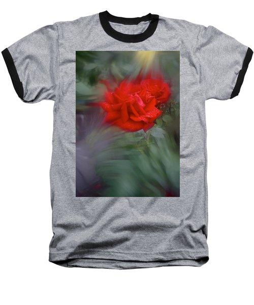 Rose Aug 2016 Baseball T-Shirt by Richard Cummings