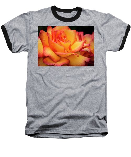 Baseball T-Shirt featuring the photograph Rose Beauty by Jean Noren