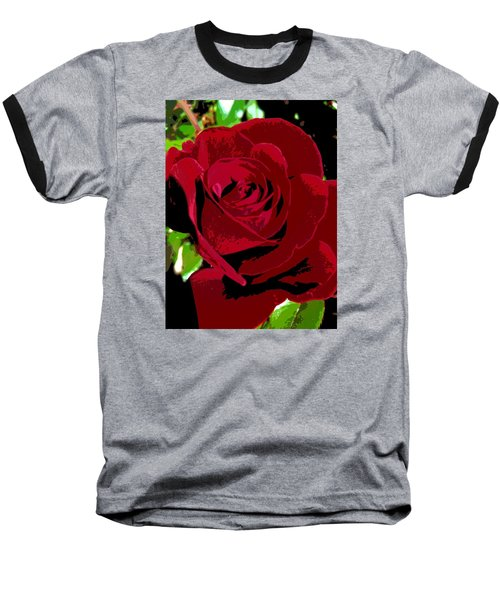 Baseball T-Shirt featuring the photograph Rose Bloom by Matthew Bamberg