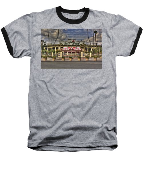 Rose Bowl Hdr Baseball T-Shirt by Richard J Cassato