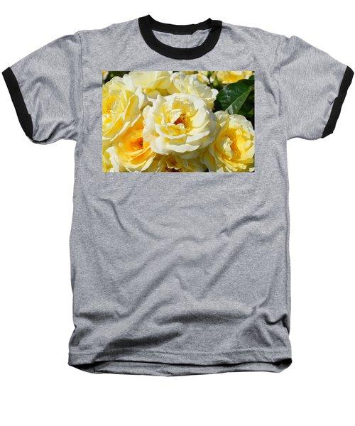 Rose Bush Baseball T-Shirt