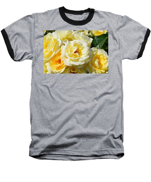 Rose Bush Baseball T-Shirt