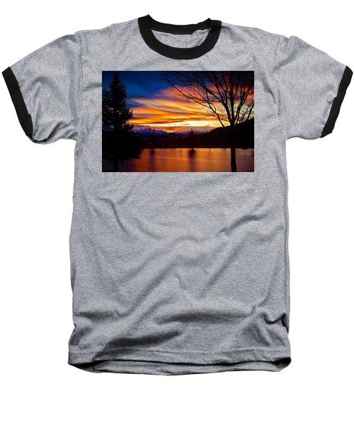Rose Canyon Dawning Baseball T-Shirt by Paul Marto