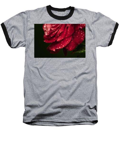 Rose Baseball T-Shirt by Craig Szymanski
