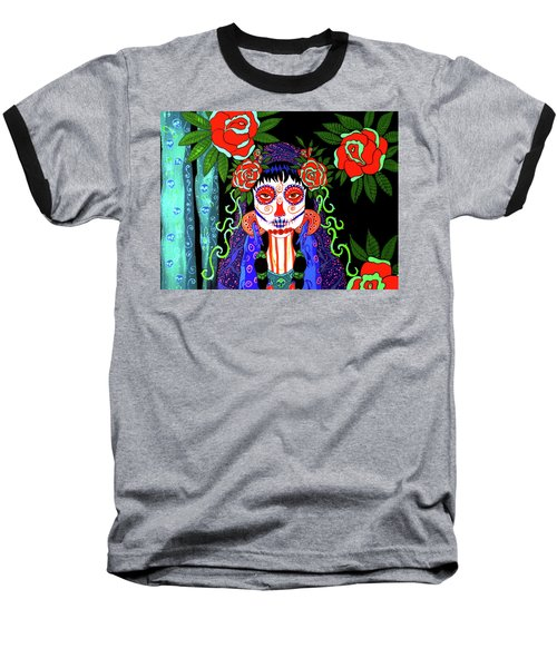 Rose Baseball T-Shirt