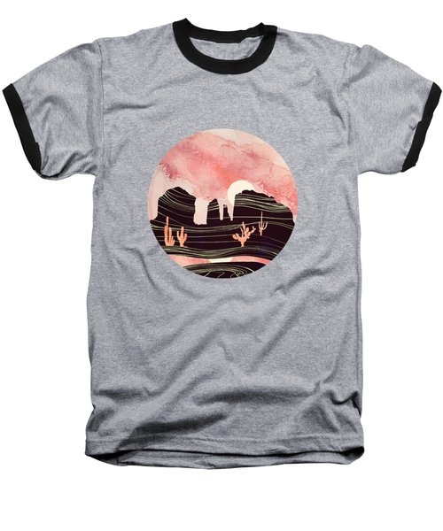 Rose Desert Baseball T-Shirt
