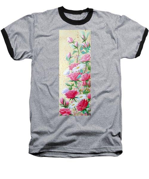 Rose Diptych 2  Baseball T-Shirt