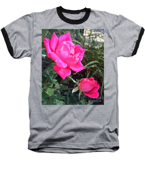Rose Duet Baseball T-Shirt