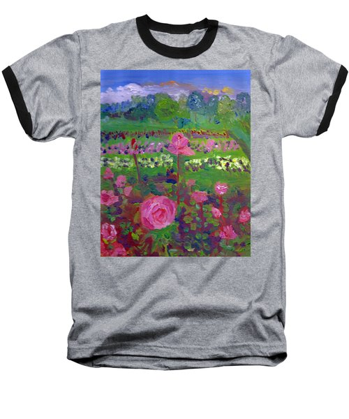 Rose Gardens In Minneapolis Baseball T-Shirt