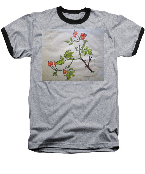 Rose Hip Baseball T-Shirt