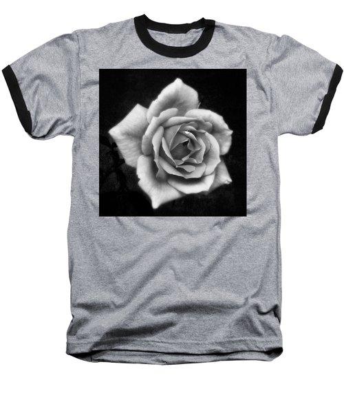 Rose In Mono. #flower #flowers Baseball T-Shirt