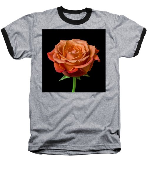 Baseball T-Shirt featuring the photograph Rose by Jim Hughes