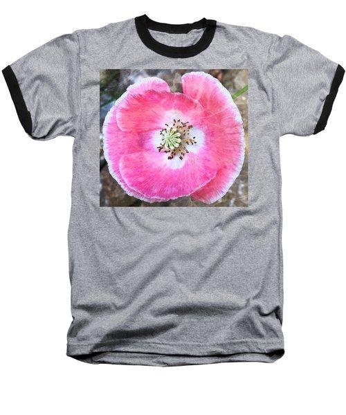Rose Marble Baseball T-Shirt