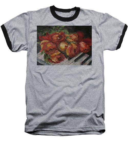 Rose Melody Baseball T-Shirt