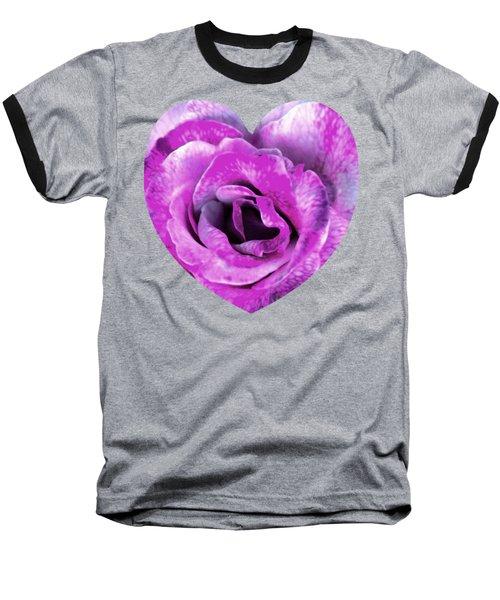 Rose Nepenthe Heart Baseball T-Shirt