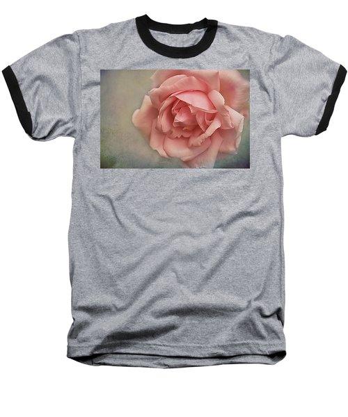 Rose New Dawn Baseball T-Shirt by Jacqi Elmslie