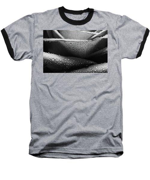 Rose Of Lines And Rain Baseball T-Shirt