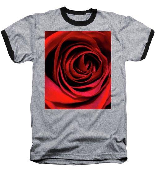 Rose Of Love Baseball T-Shirt