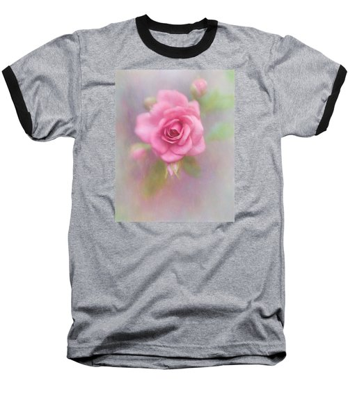 Rose Of Pink Baseball T-Shirt