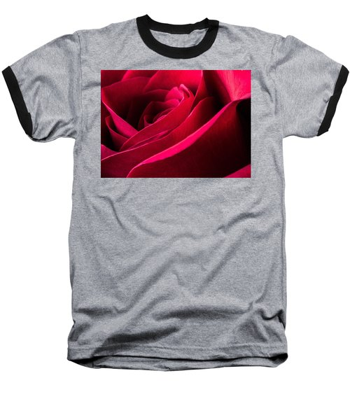 Rose Of Velvet Baseball T-Shirt