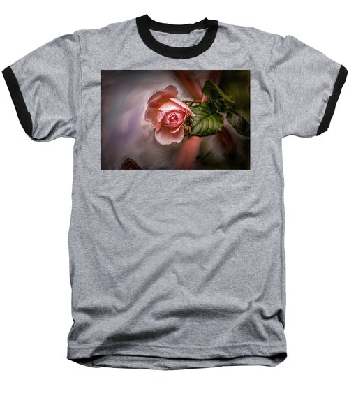 Rose On Paint #g5 Baseball T-Shirt
