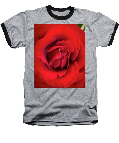 Rose Red 4 Baseball T-Shirt