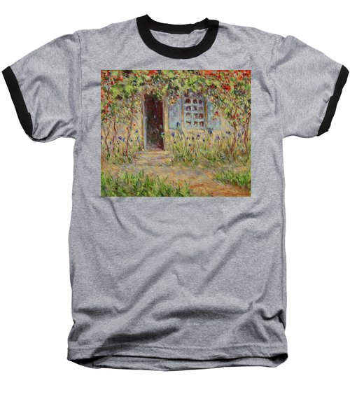 Rose Trees At The Front Of The House Baseball T-Shirt