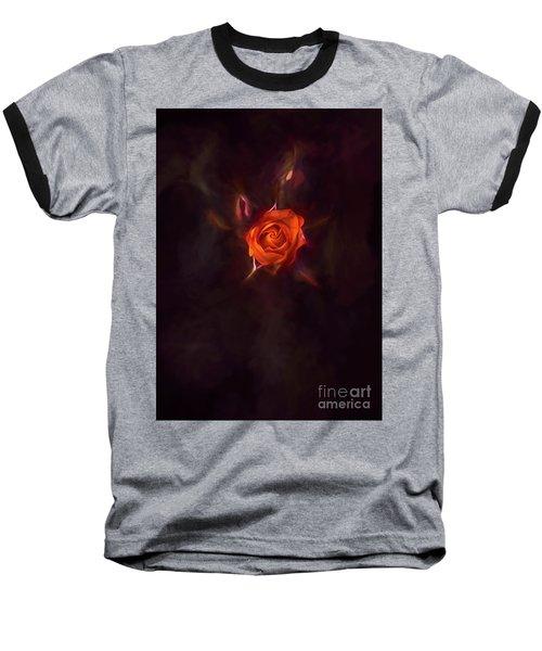 Rosebud Baseball T-Shirt by Billie-Jo Miller