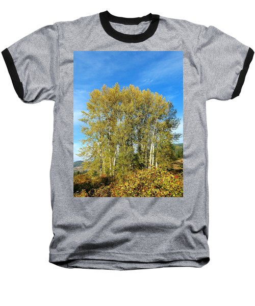 Rosehips And Cottonwoods Baseball T-Shirt