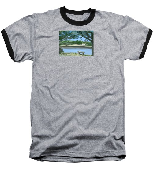 Rosemary Lake Baseball T-Shirt by Jean Pacheco Ravinski