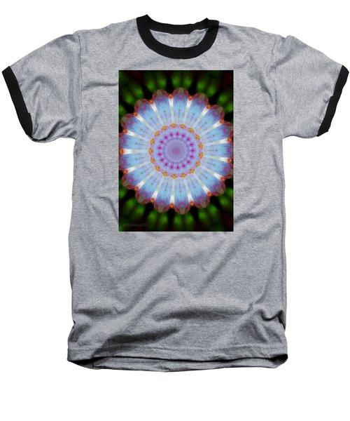 Rosepetals Mandala Baseball T-Shirt