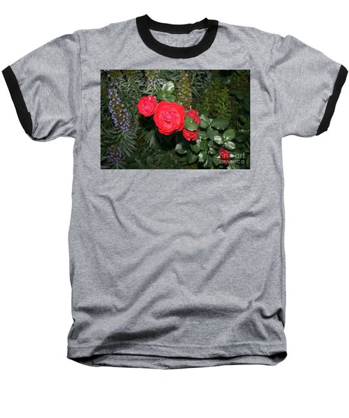 Roses Among Baseball T-Shirt
