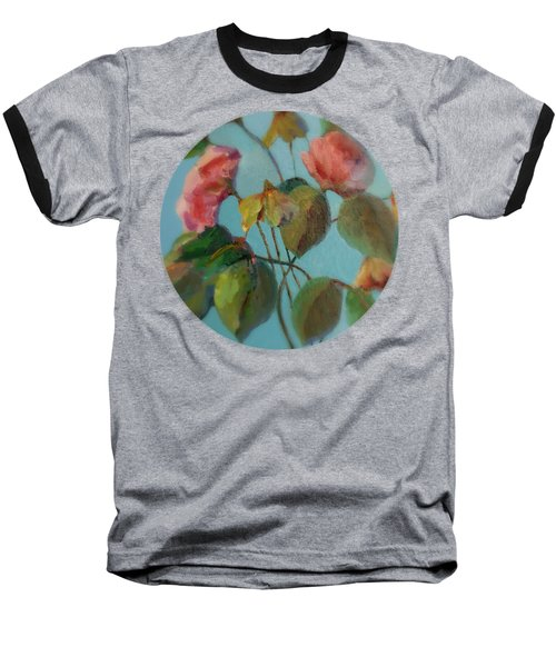 Roses And Wildflowers Baseball T-Shirt
