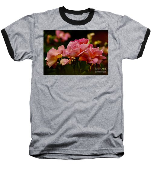 Roses By The Bunch Baseball T-Shirt