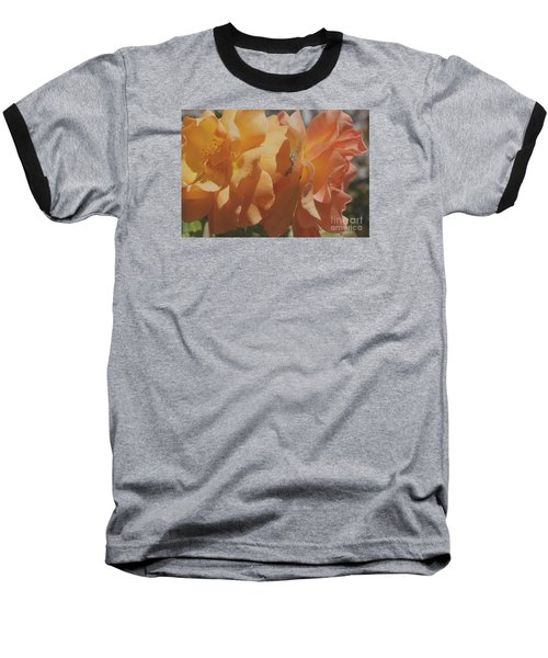 Baseball T-Shirt featuring the photograph Roses by Cassandra Buckley