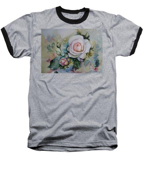 Roses Baseball T-Shirt by Elena Oleniuc