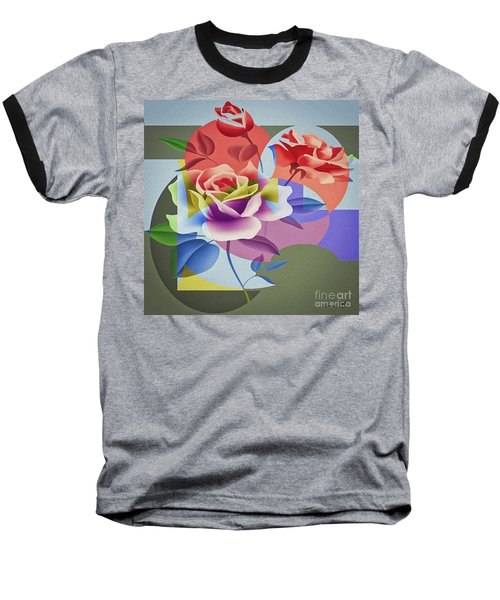 Roses For Her Baseball T-Shirt